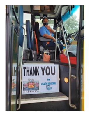 Thank you Bus Drivers!
