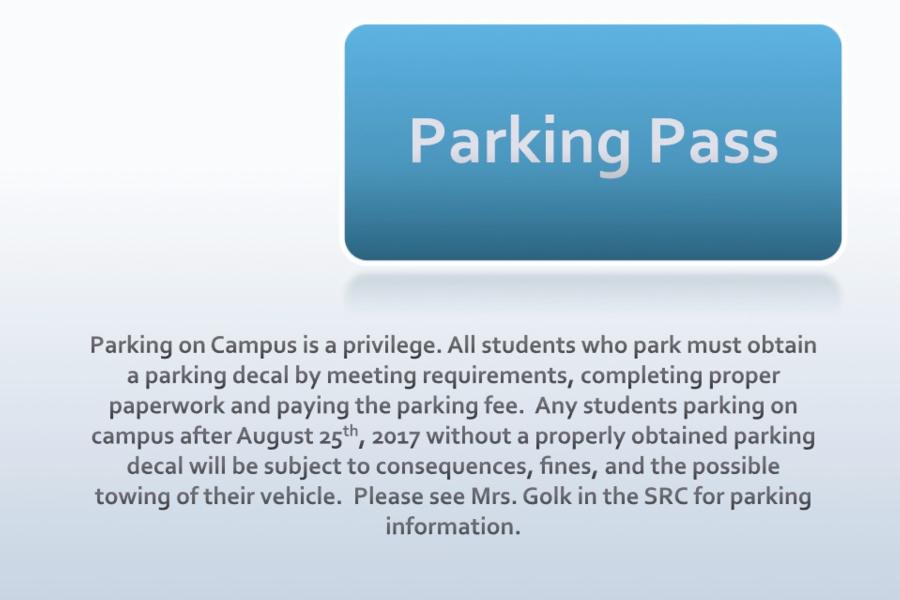 Parking Pass Information